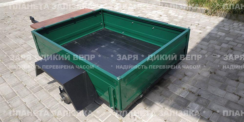 Причіп ПМ-00 для мотоблока 1.4 м х 1.1 м