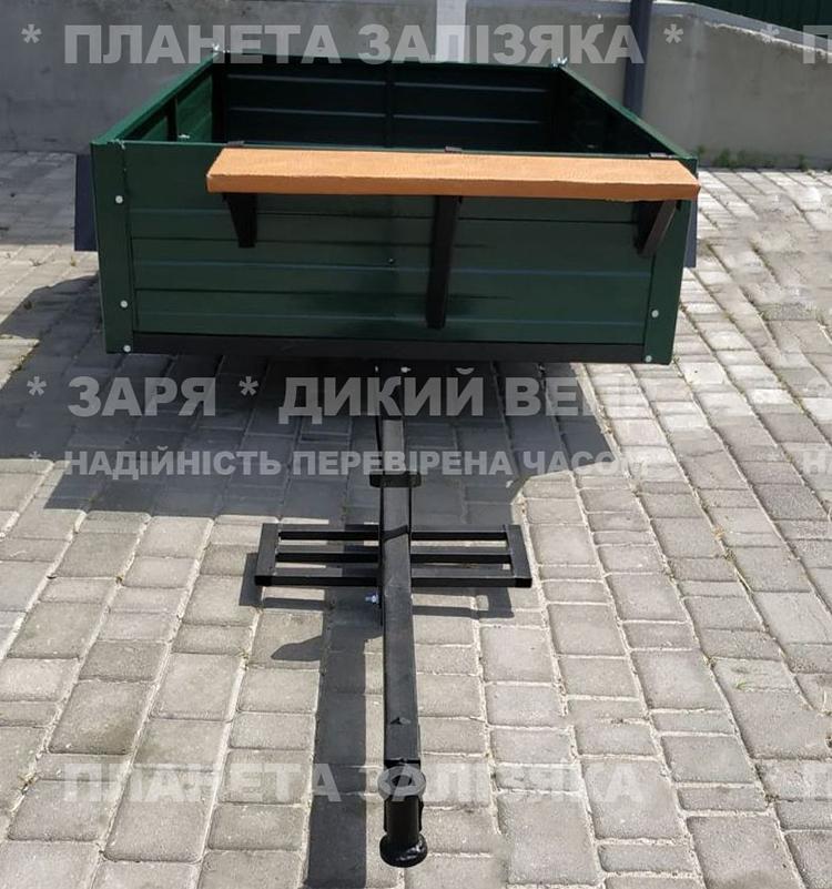 Причіп ПМ-03 для мотоблока 2 м х 1.2 м