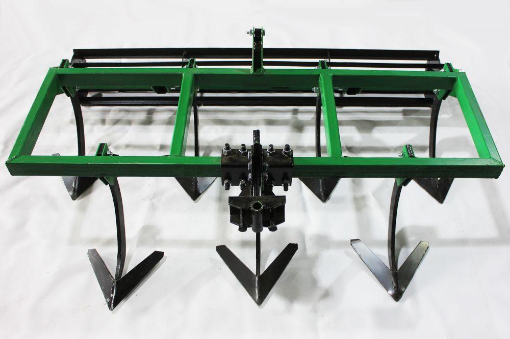Культиватор міжрядної обробки КН-1,4 з грунтобоєм для мототрактора