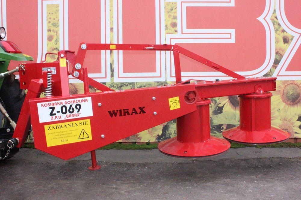 Роторна косарка 1,35м WIRAX до трактора