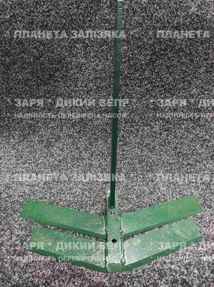 Плоскоріз для мотоблока 500 мм та ніж 380 мм