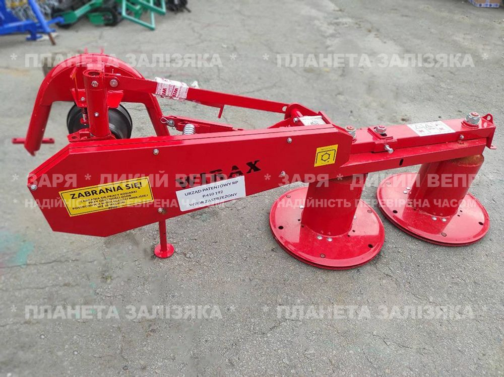 Косарка роторна WIRAX Z-069/4 (1,25 м) для мінітрактора